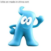 El plástico del vinilo del PVC juega los juguetes lindos del estilo de Haibao