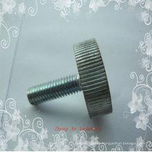 Tornillo moleteado de aluminio