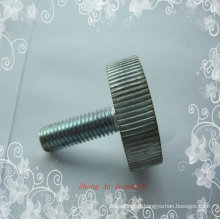 Aluminum knurled screw