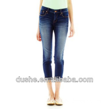 U'sake China Suppier 2014 New Women Skinny Ankle Length Jeans Wholesale S149015