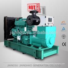 generador de tipo silencioso o abierto, generador diesel de 390kva con motor CUMMINS