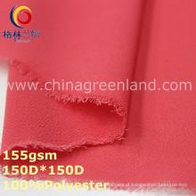 Spandex poliéster chiffon jacquard tecido para vestuário blusa (gllml343)