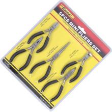 """As ferramentas da mão 5PCS mini alicates ajustaram 4.5 """"manutenção home do OEM"""