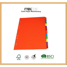 160GSM A4 Customized Color Paper Divider