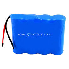 Rechargeable li-ion battery 7.4V 1865 packs