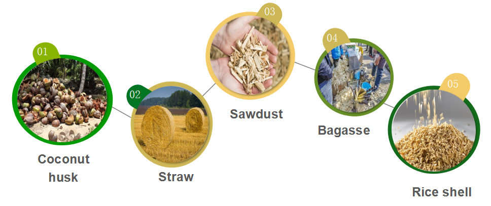 biomass fuel materials