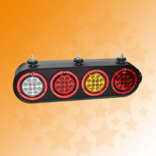 100% Waterproof E4 Jumbo LED Truck Combination Tail Lamps