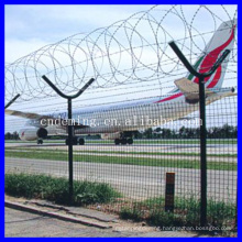Electro galvanized Y-type post airport fence with reasonable price in store(manufacturer)
