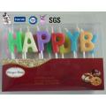 Fabricante profissional sem fumaça do produto personalizado de China da vela do aniversário