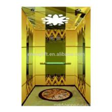 Cheap and high quality titanium wall&decorative ceiling villa lift