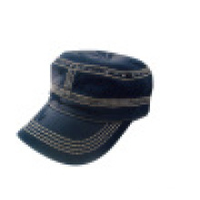 Промытая военная шляпа с логотипом (MT16)
