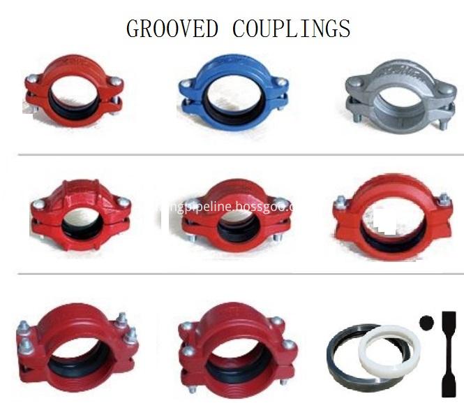 Grooved couplings