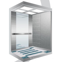 Aksen-Spiegel-geätzter Maschinen-Raum weniger Passagier-Aufzug J0342