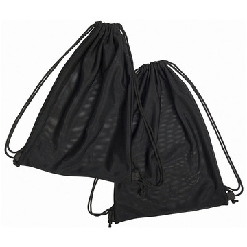 Multi Functional Mesh Bag With Drawstring Straps