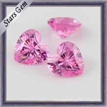 Brilliant Cut Heart Shape Zircon Stone for Jewelry
