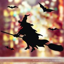Autocollants muraux faits sur commande de mur de vinyle d'autocollants de décoration de Halloween de salon imperméables