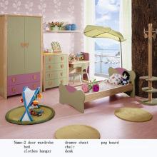 Kleiderschrank, Schlafzimmermöbel, Holz-Kleiderschrank (WJ278614)