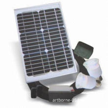 Solar-powered Lighting System with Bright Long Life DC Lamp