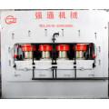 Máquina de moldagem de prensa a quente laminada de papel de madeira