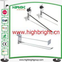 Adhesive Metal Wire Hanging Display J Hook for Supermarket