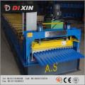 Dx 825-76-18 rolo de telhado ondulado dá forma à máquina