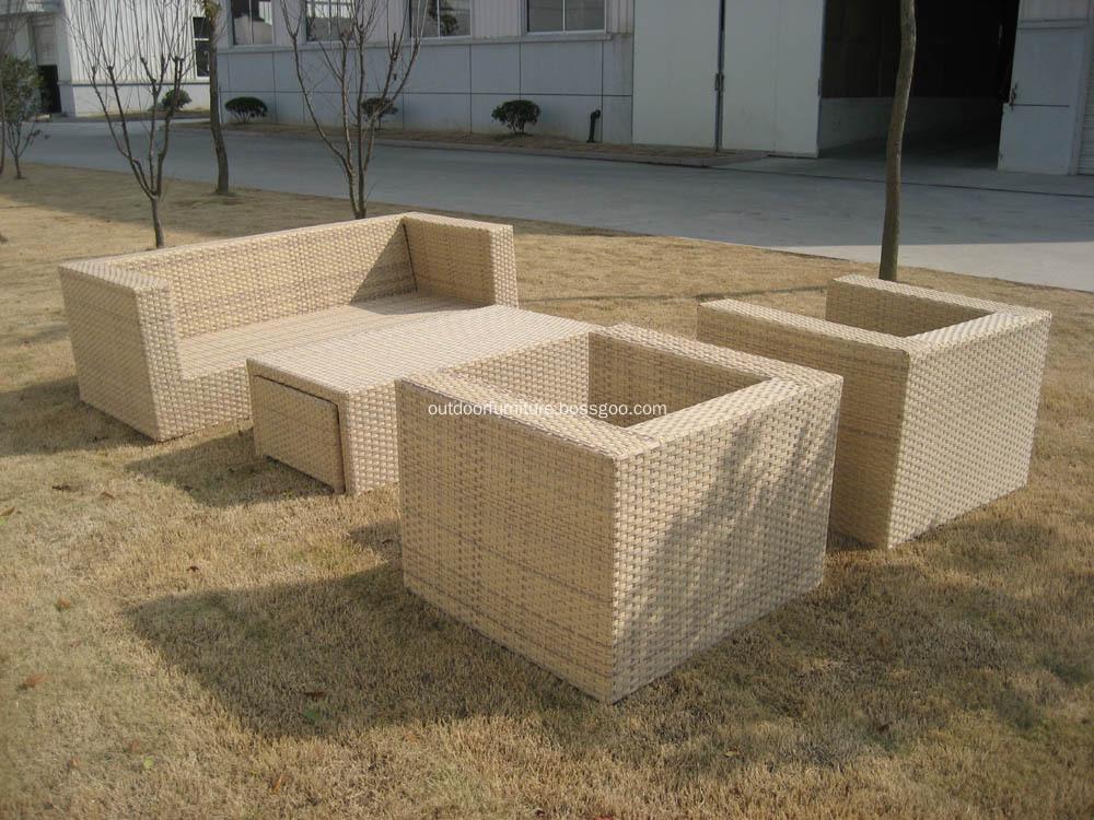 DLR1108-2 Garden Comfortable Classic Sofa Furniture Set