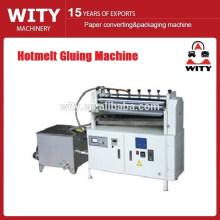 Hot-melt máquina de colagem de velocidade ajustável
