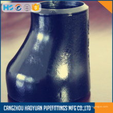 Reductores excéntricos de soldadura a tope de acero al carbono WPB A234-W