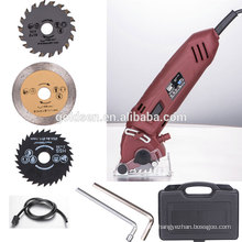 Hot Selling 54.8mm 400w Power Multi Blade Oscillating Small Electric Power Circular Saw China Mini Saw