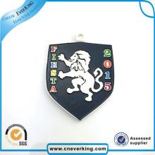 Pin de solapa de diseño personalizado de fábrica con cierre de mariposa