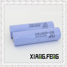 Hot Sale Original for Samsung Inr18650 29e 3.7V 2900mAh Lithium Rechargeable Battery