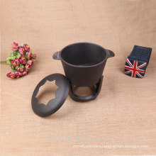 camping alcohol pot small cast iron pot