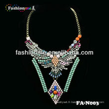 FH-N003 Fashion luxe shourouk style collier Bijoux