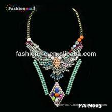 FH-N003 моды роскошь shourouk стиль ожерелье ювелирные изделия