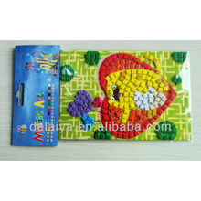 DIY EVA toy mosaic stickers for kids education