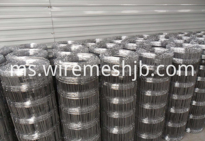 Galvanized Steel Field Fencing