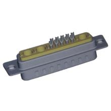 Connecteur de coque coaxial Power D 13W3 mâle