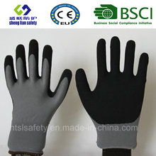 Nitrile Coating, Sandy Finish Safety Work Gloves (SL-NS116)