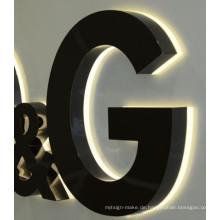 Imprägniern Sie Kanal-Buchstabe-Firmenzeichen der Helligkeits-LED im Freien