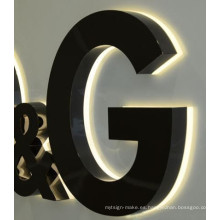 Impermeable brillo al aire libre LED Channel Letter Company Logotipo