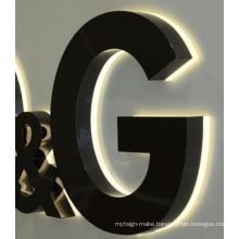 Waterproof Outdoor Brightness LED Channel Letter Company Logo