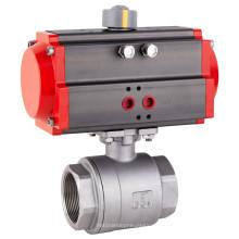 Actuador neumático 2-PCS Válvula de bola