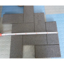 Rubber Gym Flooring with Interlocking Edge, Outdoor Kindergarten Playground Rubber Flooring