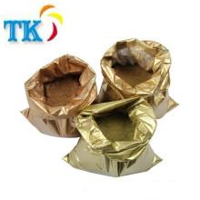 Pó do bronze do ouro pálido da malha de 240 mesh-1200, pigmento de cobre dos pós