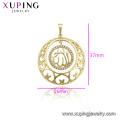 33747 Bijoux musulmans Xuping, pendentif Allah design en plaqué or 14k