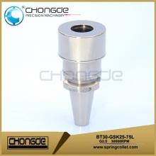 Shank dynamic balance BT type tool holder BT30-GSK25-75L  high speed