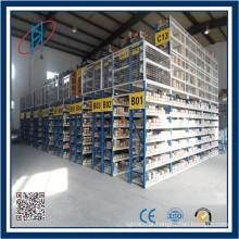 Sistema de armazenamento de componentes eletrônicos para armazém