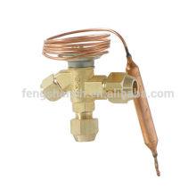 Válvula de temperatura accionada para compresor