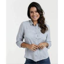 Elegant women shirt tops Cotton women office blouse