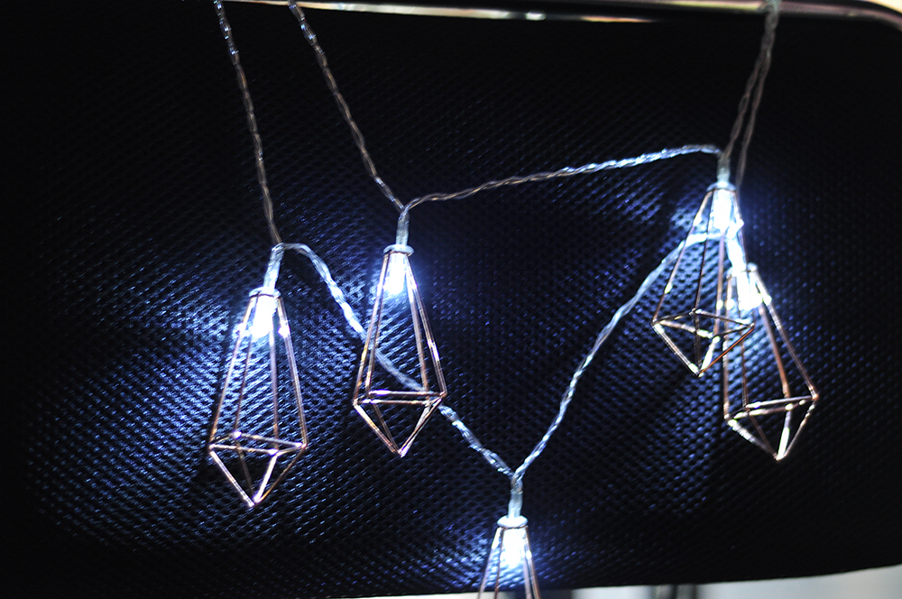 String Long  Diamond 10 LED